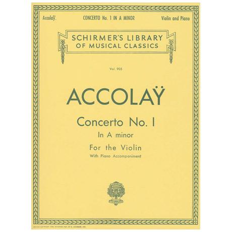 Accolay, J. B.: Violinkonzert Nr. 1 a-Moll