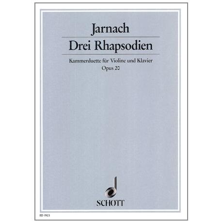 Jarnach, Ph.: 3 Rhapsodien