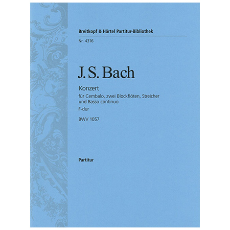 Bach, J. S.: Cembalokonzert g-Moll BWV 1058