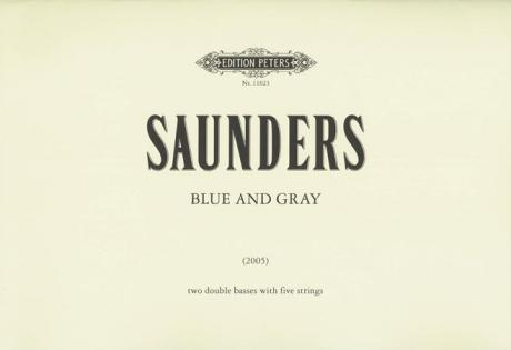 Saunders, R.: Blue and Gray