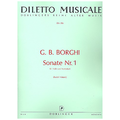 Borgh, G.: Sonate Nr.1 D-Dur