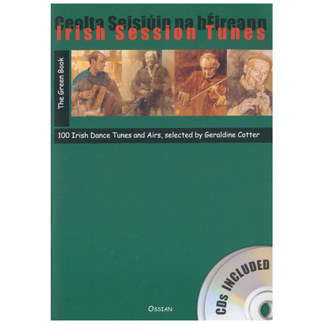 Irish Session Tunes: The Green Book (+2CDs)
