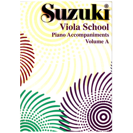 Suzuki Viola School Vol.1 & 2 – Piano Accompaniment