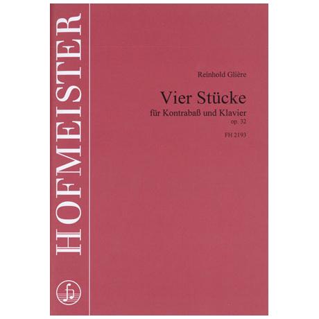 Glière, R.: 4 Stücke Op.32