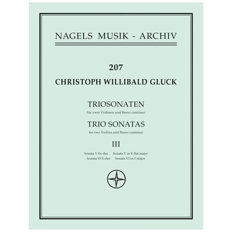 Gluck, C.W.: Zwei Triosonaten in Es-Dur und F-Dur
