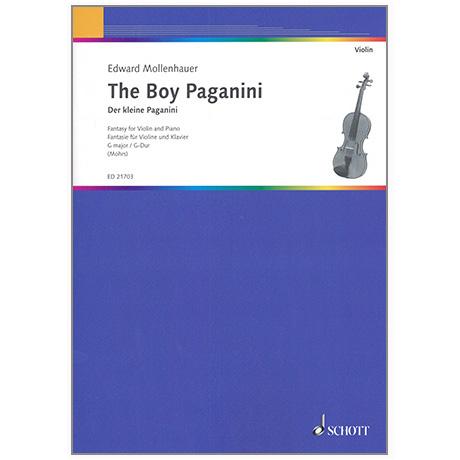 Mollenhauer, E.: The boy Paganini - Der kleine Paganini