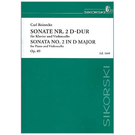 Reinecke, C.: Sonate D-Dur Nr. 2 Op. 89