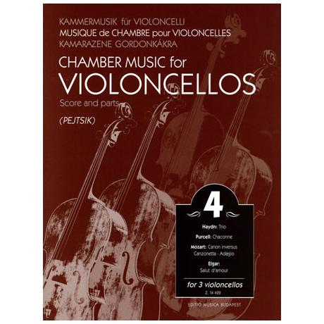 Kammermusik für Violoncelli Band 4
