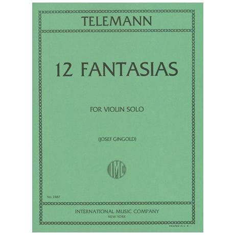 Telemann, G.Ph.: 12 Fantasien