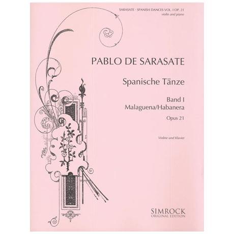 Sarasate, P. d.: Spanische Tänze Band 1