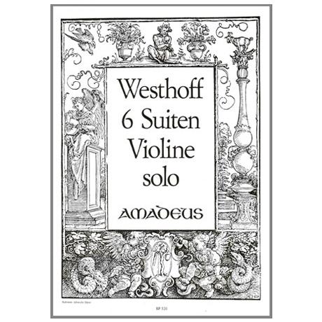 Westhoff, J. P. v.: 6 Suiten