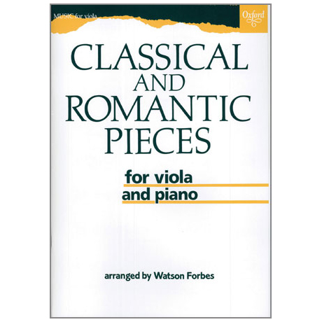 Classical and Romantic Pieces