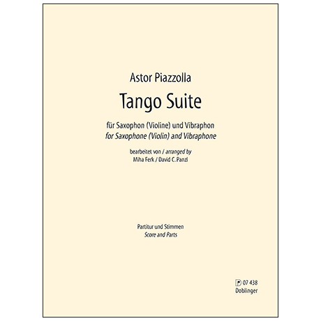 Piazzolla, A.: Tango Suite