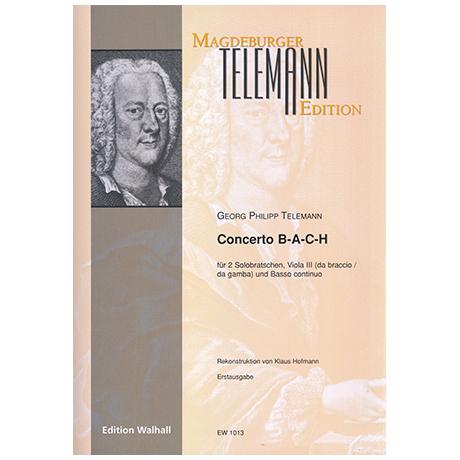 Telemann, G. Ph.: Violakonzert B-A-C-H