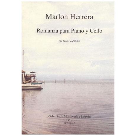 Herrera, M.: Romanza para Piano y Cello