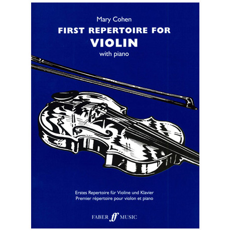Cohen, M.: First Repertoire for Violin