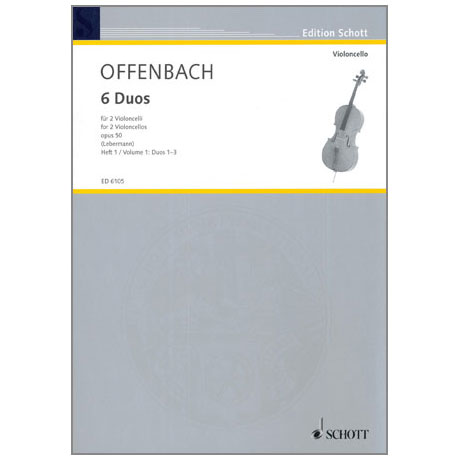 Offenbach, J.: 6 Duos Op.50 Band 1