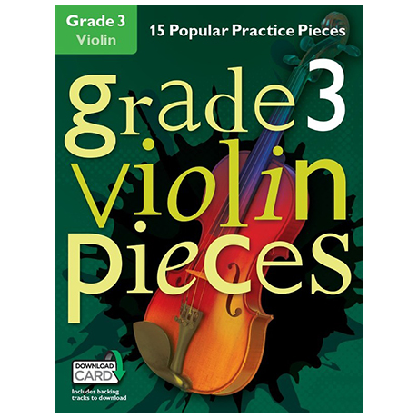 Hussey, Ch.: Grade 3 Violin Pieces (+Download Card)