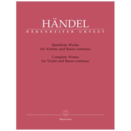 Händel, G. F.: Sämtliche Werke
