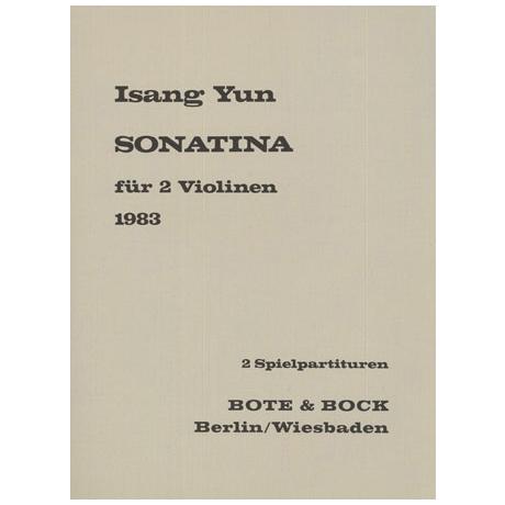 Yun, I.: Sonatina