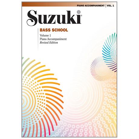 Suzuki Bass School Vol. 1 – Klavierbegleitung