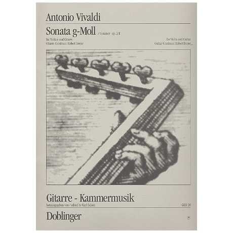 Vivaldi, A.: Sonata g-moll Op. 2/1