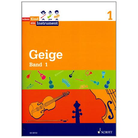 Jedem Kind ein Instrument - Geige Band 1
