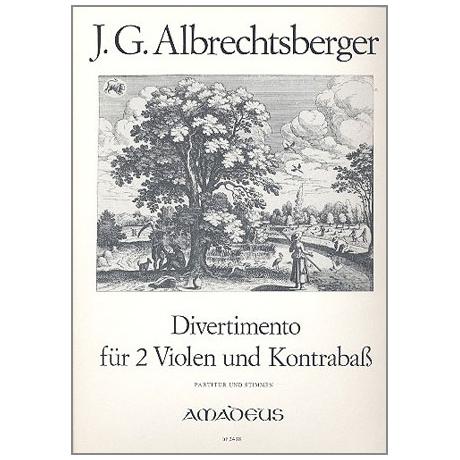 Albrechtsberger, A.: Divertimento D-Dur