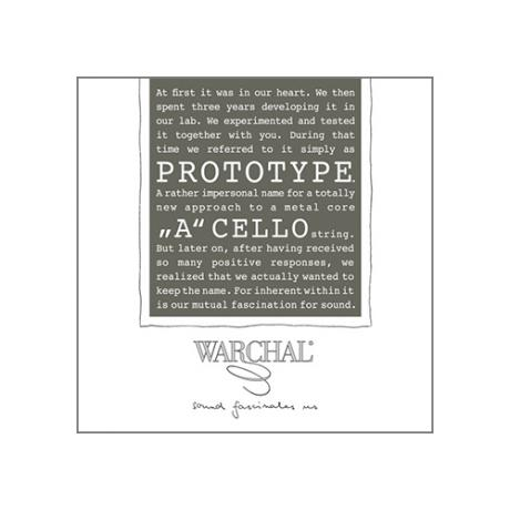 WARCHAL Prototype corde violoncelle La