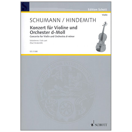 Schumann, R./Hindemith, P.: Violinkonzert (1937)