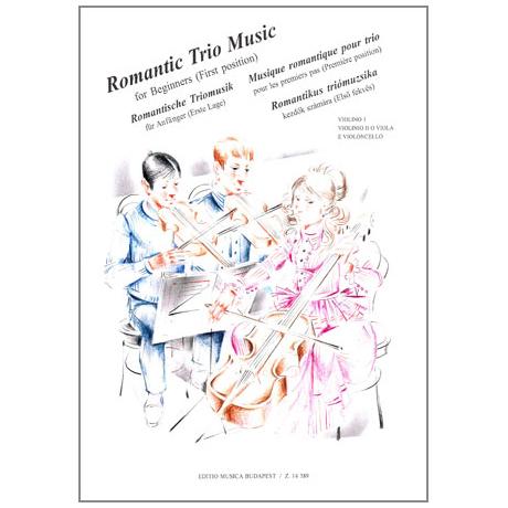 Musik für Anfänger - Romantische Triomusik für Anfänger