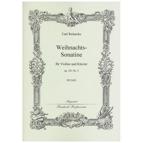 Reinecke, C.: Weihnachtssonatine Op.251 Nr.3