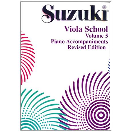 Suzuki Viola School Vol.5 – Piano Accompaniment