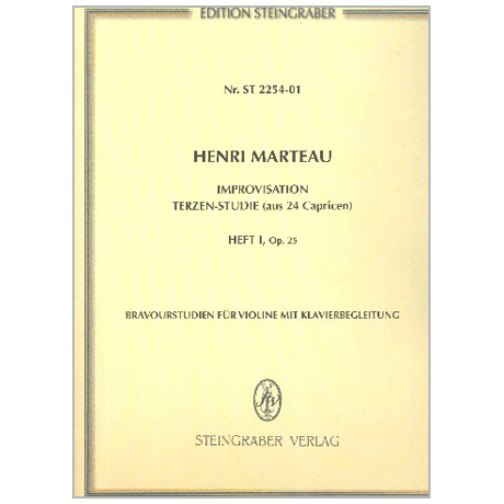 Marteau, H.: Improvisation Op. 25/1