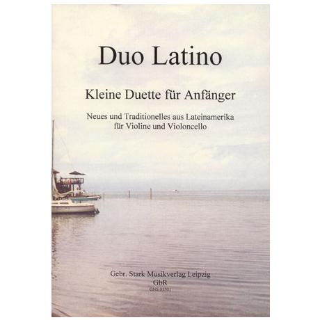 Duo Latino: Kleine Duette für Anfänger