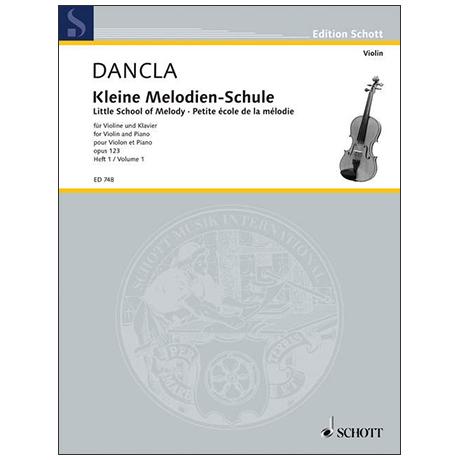 Dancla, J. B. Ch.: Kleine Melodienschule Op. 123 Band 1