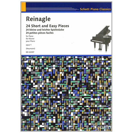 Reinagle, A.: 24 Short and Easy Pieces Op. 1