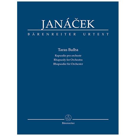 Janácek, L.: Taras Bulba – Rhapsodie für Orchester