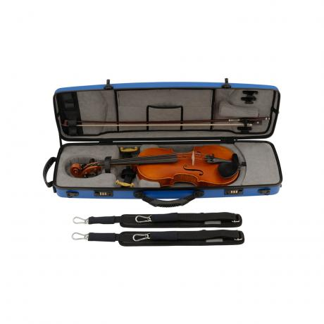 WUNDERKIND oblong violin case 2.3 4/4 | blau