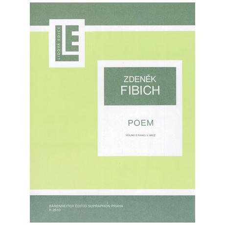 Fibich: Poem