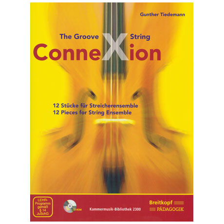 Tiedemann, G.: The Groove String ConneXion (+CD-ROM)