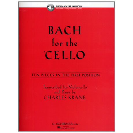 Bach for the Cello (+Online Audio)