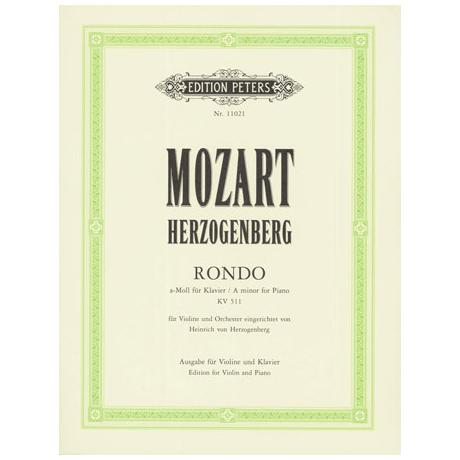 Herzogenberg, H. v. / Mozart, W. A.: Rondo KV511 a-Moll