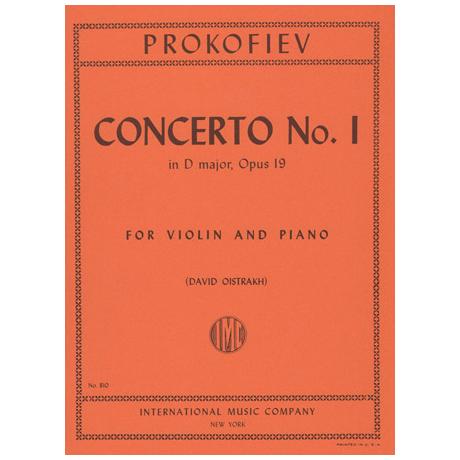 Prokofjew, S.: Violinkonzert Nr. 1 Op. 19 D-Dur (Oistrach)