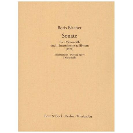 Blacher, B.: Sonate
