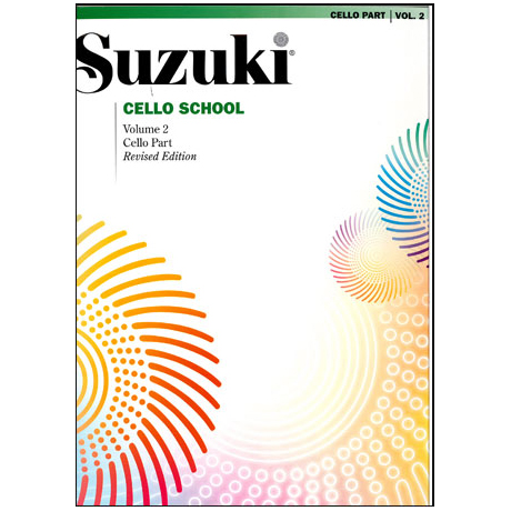 Suzuki Cello School Vol. 2