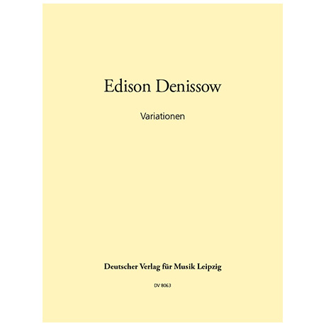 Denissow, E.: Variationen (1961)