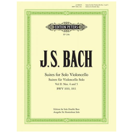 Bach, J.S.: 6 Solosuiten (Cello) Suite 4-5
