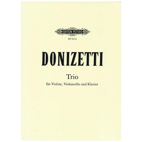 Donizetti, G.: Klaviertrio Es-Dur
