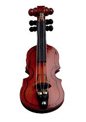 Wooden violin